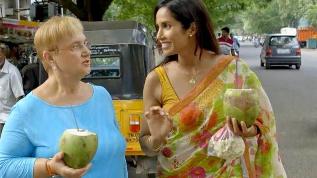 Home For the Holidays: Padma Lakshmi