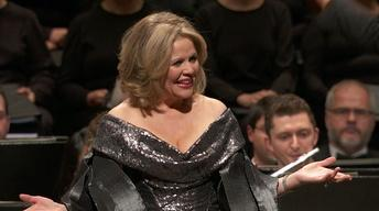 "Renee Fleming performs Johann Strauss' ""Frag micht oft"""
