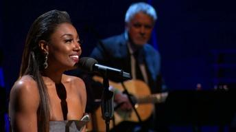 "Patina Miller performs John Lennon's ""Imagine"""