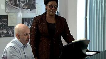"S39 Ep8: Dianne Reeves rehearses ""Love Is Here to Stay"""
