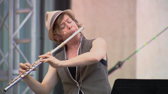 """Claire Chase, flute and piccolo: Mostly Mozart's """"50 for 50"""""""