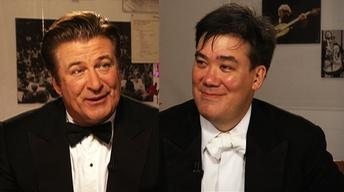 Swinging with Wynton: Alec Baldwin and Alan Gilbert