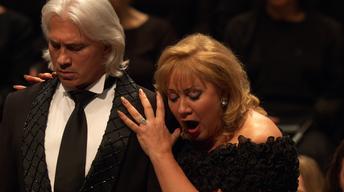 """Olga Borodina & Dmitri Hvorostovsky sing """"The Tsar's Bride"""""""