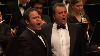 "Gerald Finley & Marcello Giordani perform ""Pearl Fishers"""