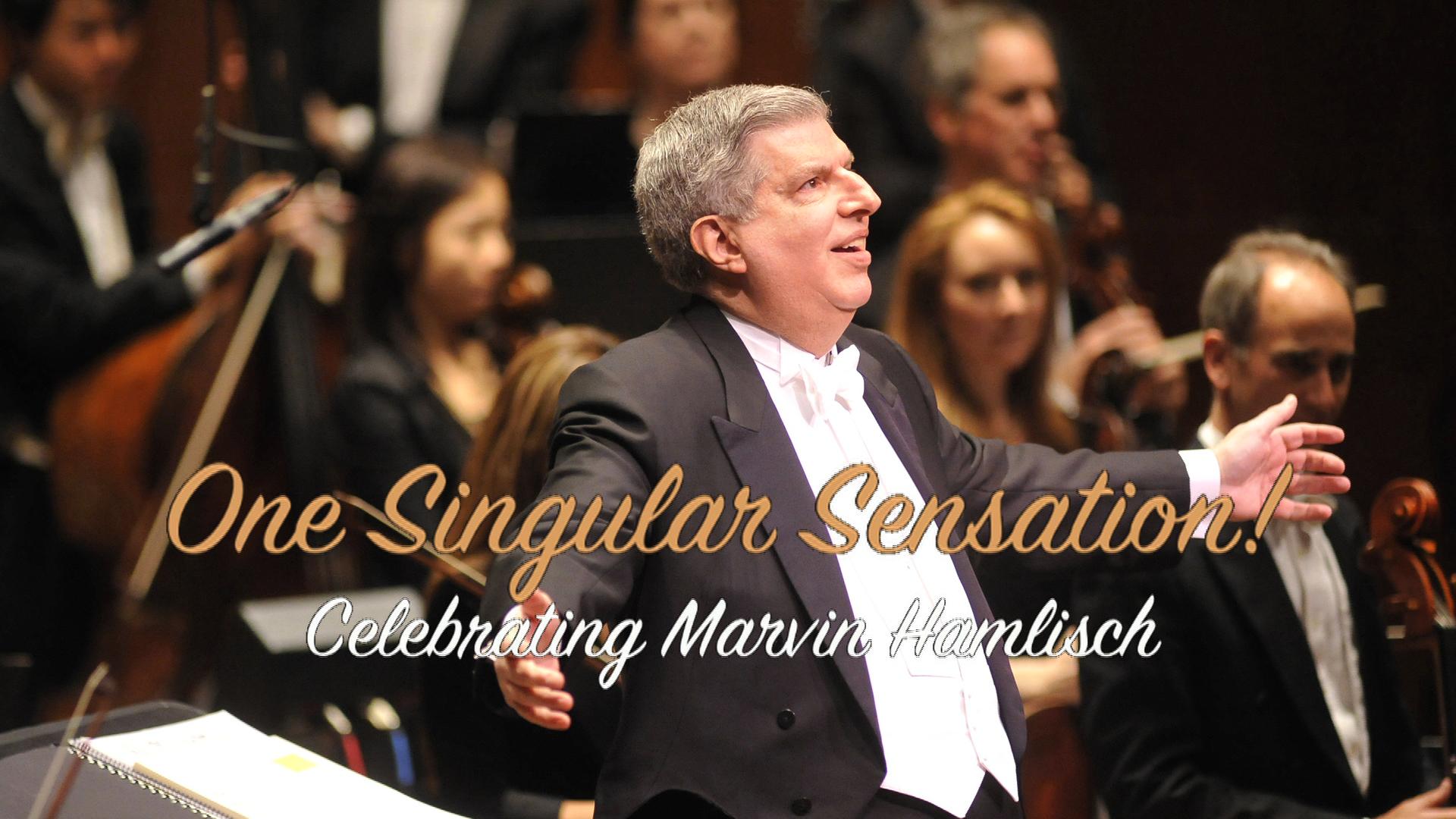One Singular Sensation! Celebrating Marvin Hamlisch image