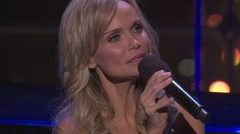 "Kristin Chenoweth performs ""Edelweiss."""