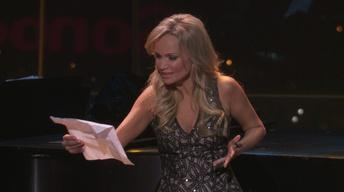 "Kristin Chenoweth performs full-length ""Somebody, Somewhere"""
