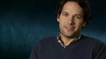 "Interview- Paul Rudd Talks About Cracking Up on ""Anchorman"""