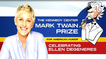 S2012 Ep1: Ellen DeGeneres: The Kennedy Center Mark Twain Pr