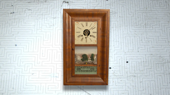 William S. Johnson Ogee Case Clock