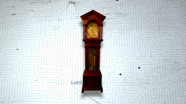 Walter Durfee Tall Case Clock at the Mayowood Mansion