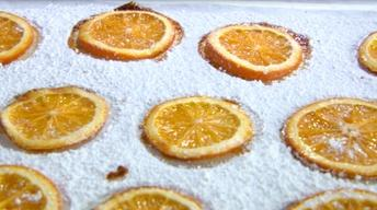 Learn How To Make Candied Orange Slices