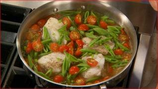 Poaching Cod Fish