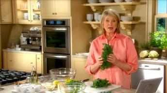 Martha Stewart's Tip: Kale is King
