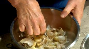 Learn How to Quickly Peel Garlic