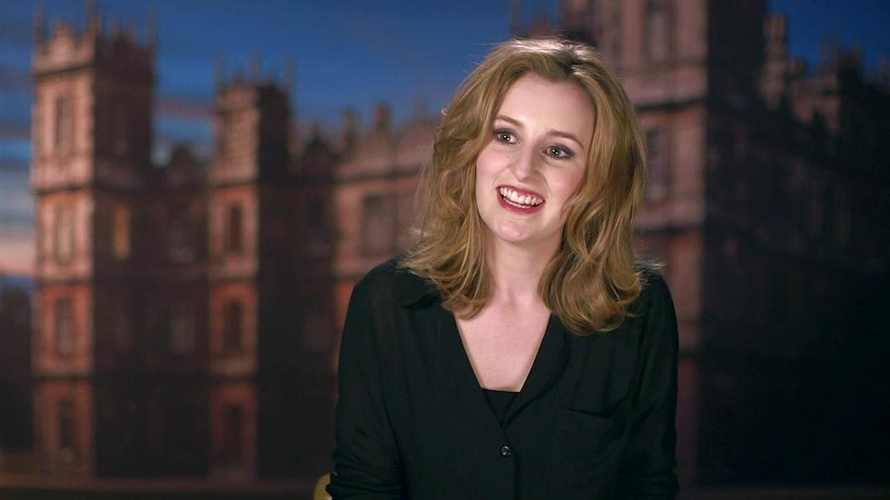 Downton Abbey, Season 4: Cast & Creator on Lady Edith image