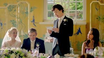 Sherlock, Season 3: A Scene from Episode 2