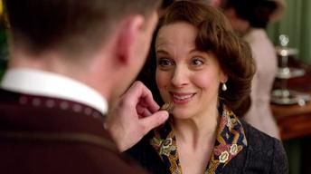 Mr. Selfridge, Season 2: Amanda Abbington on Chocolate