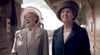 Downton Abbey 5: Episode 9, Train Scene