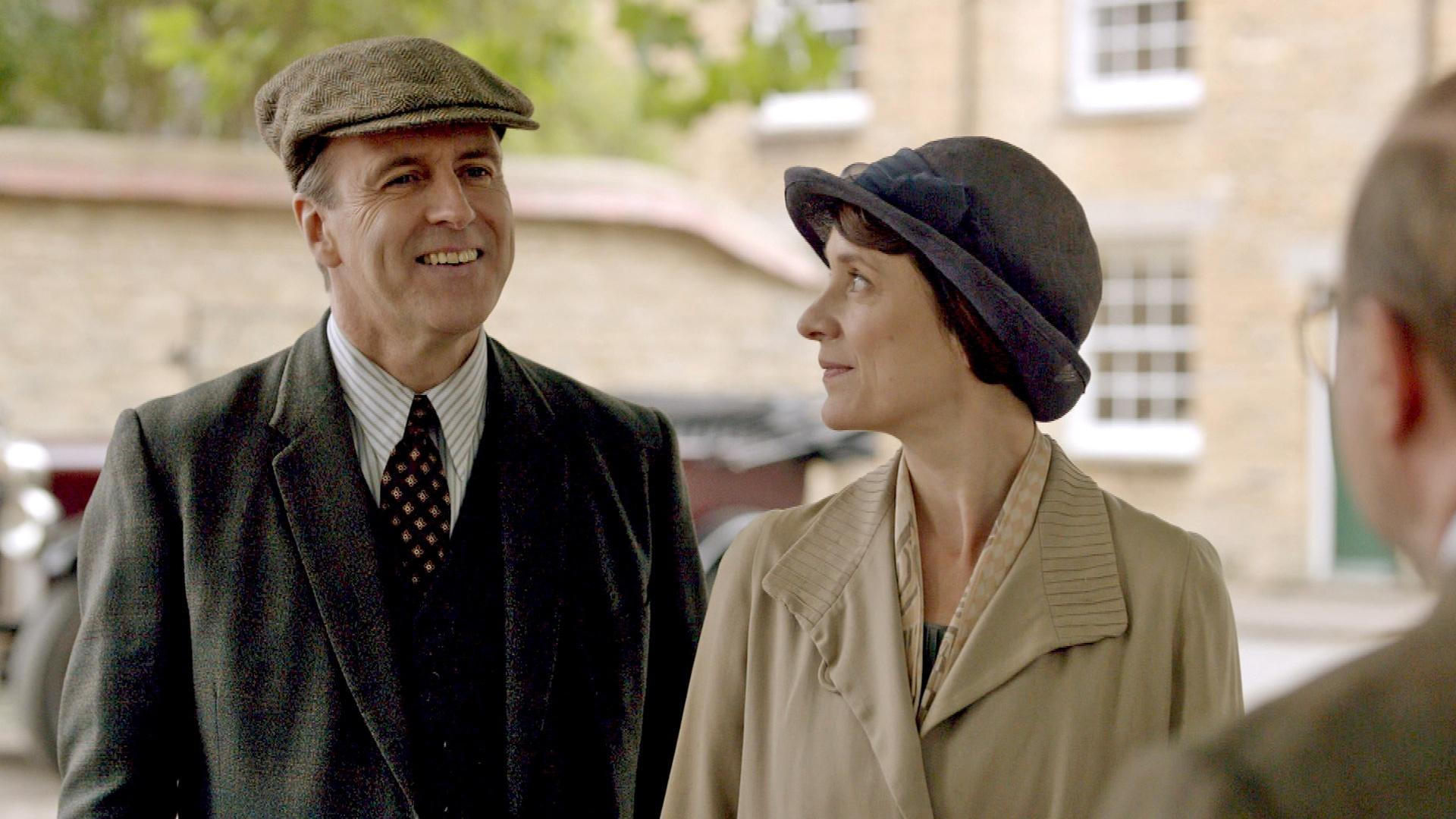 Downton Abbey, Final Season: Finale Scene