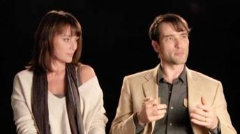 Keeley Hawes and Ed Stoppard on Working with a Monkey