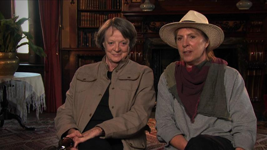 Downton Abbey on Masterpiece - Maggie Smith and Penelope ...