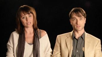 Keeley Hawes and Ed Stoppard on Transforming the Set
