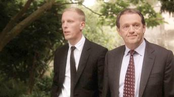 A Scene from Inspector Lewis: The Soul of Genius