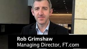 Rob Grimshaw on the FT Web App