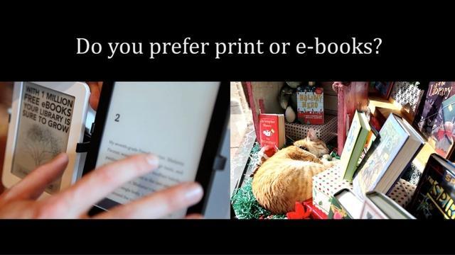 E-Books or Print Books?