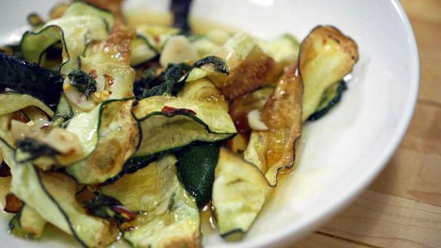Bonus Scene: Fried Zucchini Agrodolce