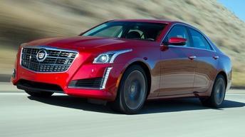 2014 Cadillac CTS & 2014 Hyundai Santa Fe