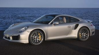 2014 Porsche 911 Turbo & 2014 Nissan Rogue image