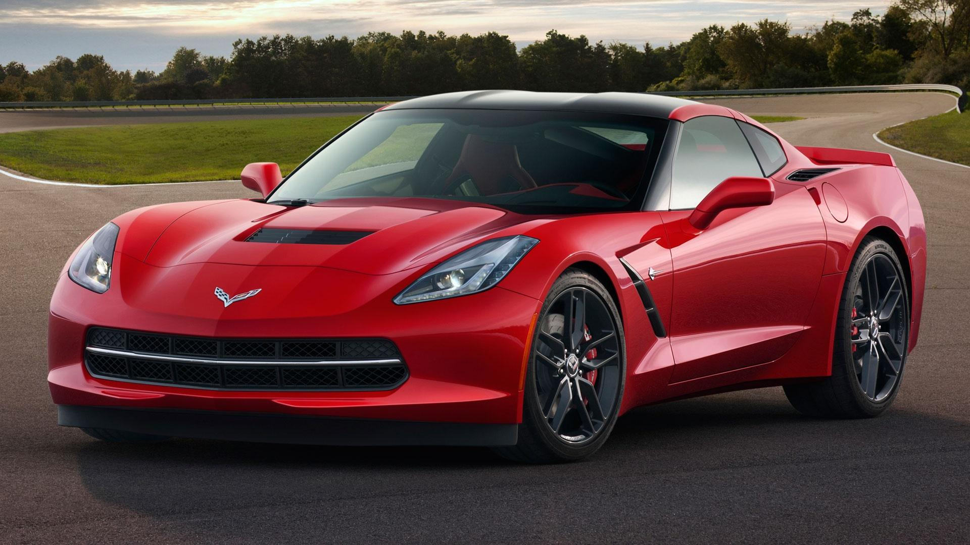 2014 Chevrolet Corvette Stingray & 2015 Honda Fit image