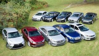 Mid-Sized Sedan Challenge & 2015 Kia Soul EV