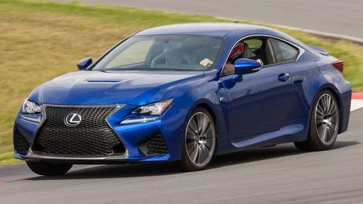 2015 Lexus RC F & 2015 Lincoln Navigator Video Thumbnail