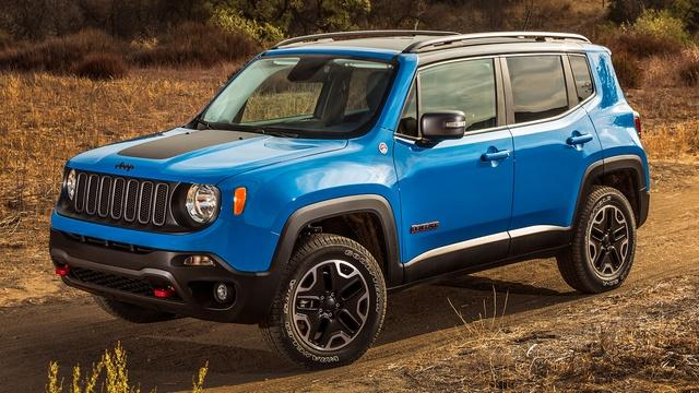 2015 Jeep Renegade & 2015 BMW i3