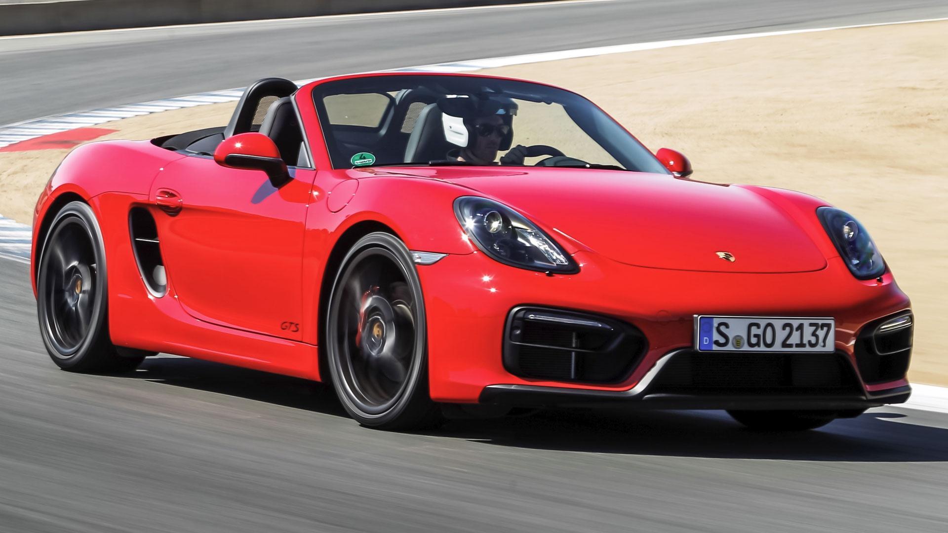 3-Car Performance Coupe Challenge & 2015 Porsche Boxster GTS