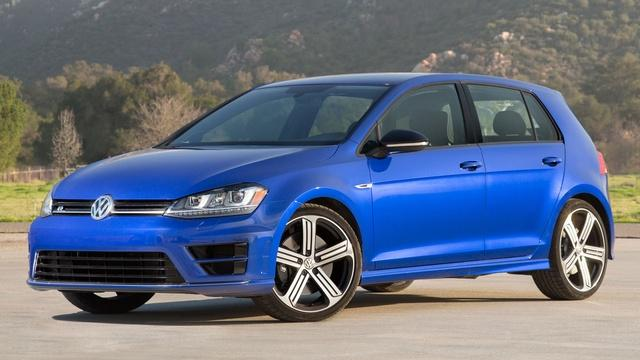 2015 Volkswagen Golf R & 2015 Jeep Renegade