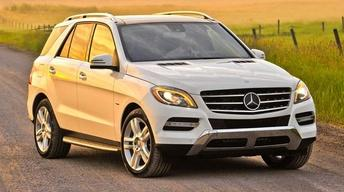 2012 Mercedes-Benz ML350 BlueTec & 2012 Ford Mustang Boss...