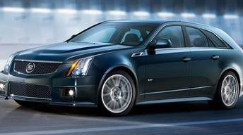 2011 Cadillac CTS-V Sport Wagon & 2011 Nissan Quest image