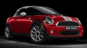 2012 MINI Cooper Coupe & 2012 Toyota Yaris