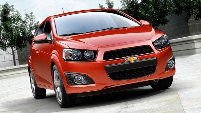 2012 Chevrolet Sonic & 2012 Hyundai Genesis R-Spec image