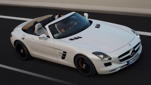 2012 Mercedes-Benz SLS AMG Roadster & 2012 Volkswagen Tiguan image