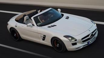 2012 Mercedes-Benz SLS AMG Roadster & 2012 Volkswagen Tiguan