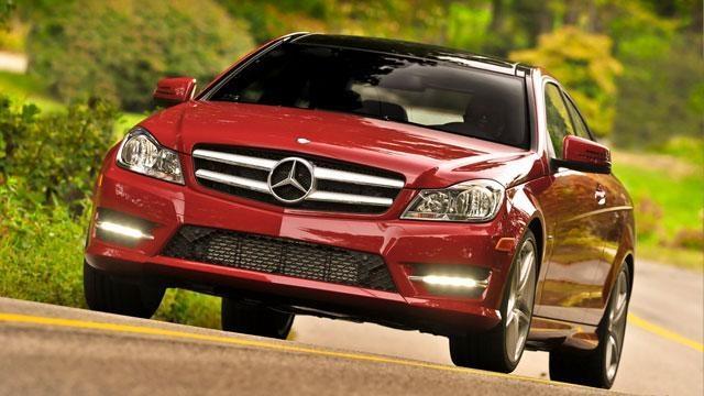 2012 Mercedes-Benz C250 Sport Coupe & 2012 Buick Verano image