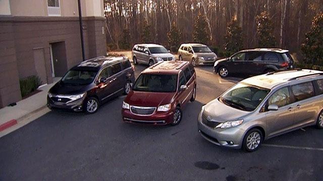 Ultimate Minivan Shootout & 2011 Lotus Evora image