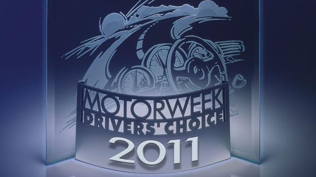 2011 MotorWeek Drivers' Choice Awards image
