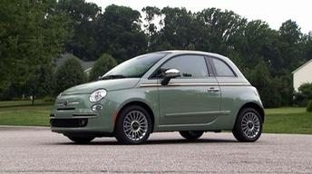 2012 Fiat 500c & 2011 Hyundai Elantra