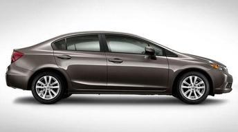 2012 Honda Civic & 2011 Infiniti QX 56 image